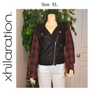 Xhilaration Moto Jacket Women's Size XL